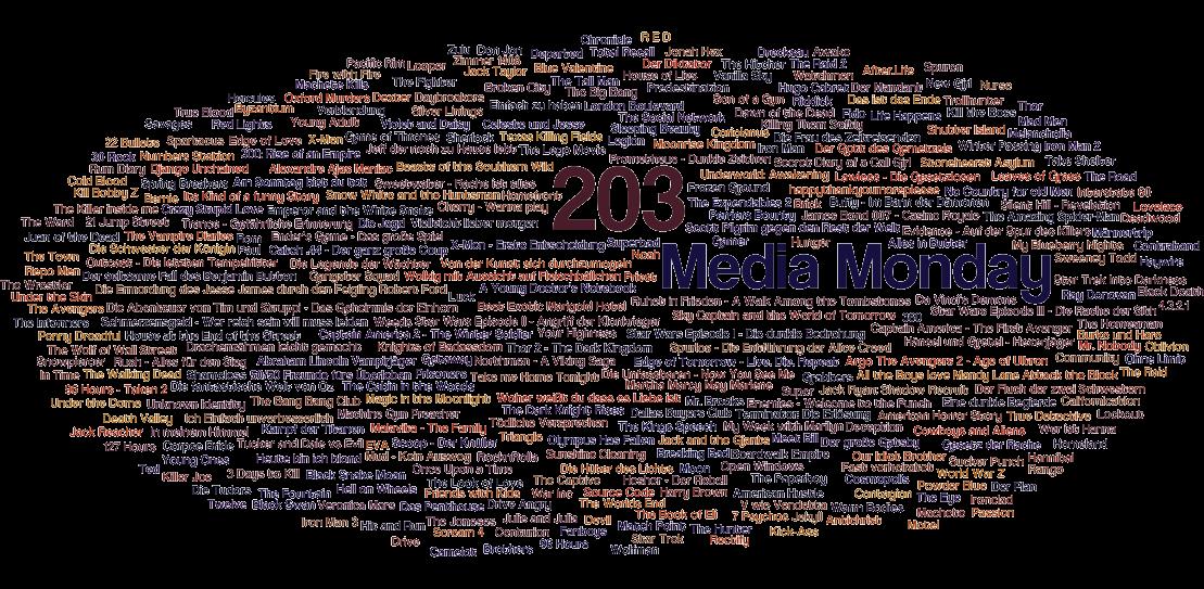 Media Monday #203 – Meine Antworten