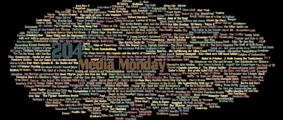 Media Monday #204 – Meine Antworten